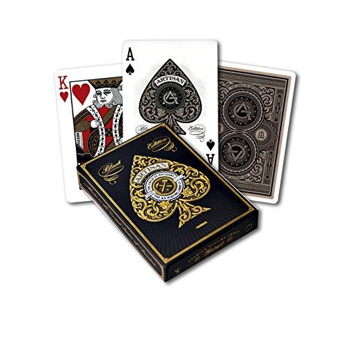 Theory Artisan Spielkarten (schwarz)