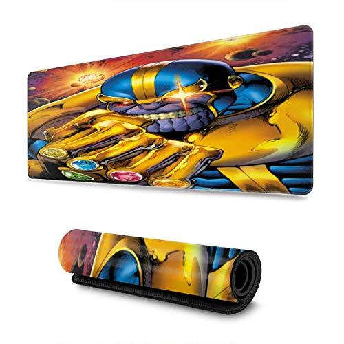 XCNGG Anime Avenger Thano Alfombrilla de ratón Alfombrilla de ratón con Borde Antideslizante Deportes electrónicos de Gran tamaño 11,8 x 31,5 Pulgadas