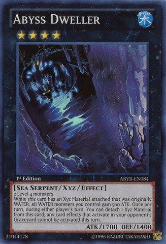 YU-GI-OH! - Abyss Dweller (ABYR-EN084) - Abyss Rising - Unlimited Edition - Super Rare