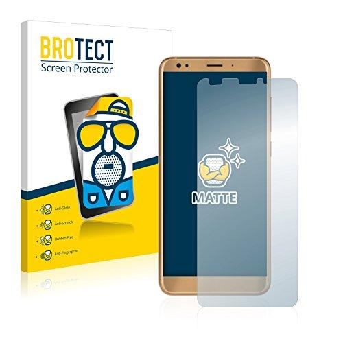 BROTECT 2X Entspiegelungs-Schutzfolie kompatibel mit ZTE Blade V9 Vita Bildschirmschutz-Folie Matt, Anti-Reflex, Anti-Fingerprint