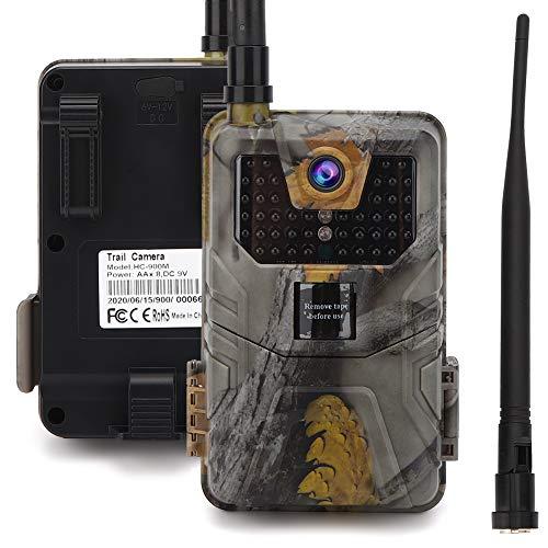 Gaeirt 16 MP Jagd- und Wildkamera, 2G MMS-Version Wildkameras mit Nachtsicht wasserdichte Infrarotkamera Wetterfeste Box Starke Tarnung für Wildtiere, Überwachung