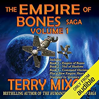 The Empire of Bones Saga, Volume 1 cover art