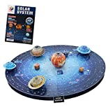 Space 3D Puzzle Outer Space Planets for Adults and Kids Solar System Game for Boys and Girls Brain Teaser Toys Astronomy Lovers 146 Pieces