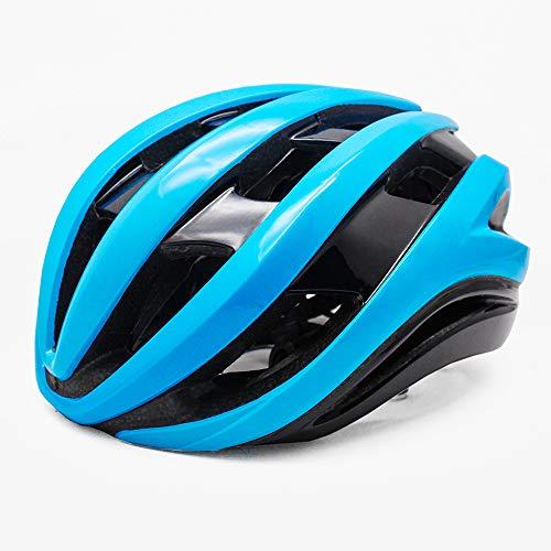 DearSnow Cycling Helmet Ultralight Outdoor Sport MTB Road Bike Helmet Integrally-molded Men Women Bicycle Helmet(Blue,M L 54-60cm)