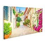 Bild Bilder auf Leinwand Straße Athen Griechenland Kleine