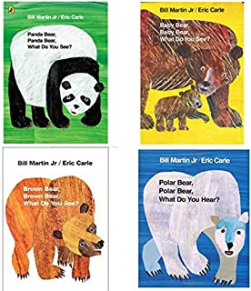 4Pcs/Set Educational English Picture Book Bear Set Learning Card Story Book For Baby Kids Children Gifts