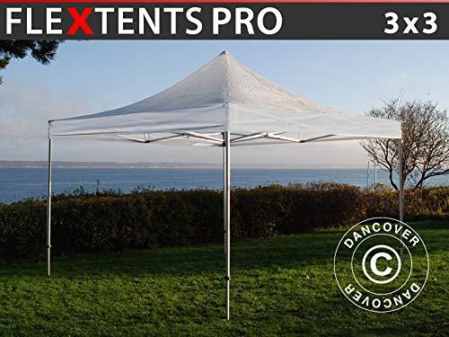 Dancover Vouwtent/Easy up tent FleXtents PRO 3x3m Doorzichtig