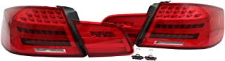 PROMOTORING For 07-13 BMW E92 2DR Coupe LCI Facelift Style LED Taillights - Red w/Amber Signal