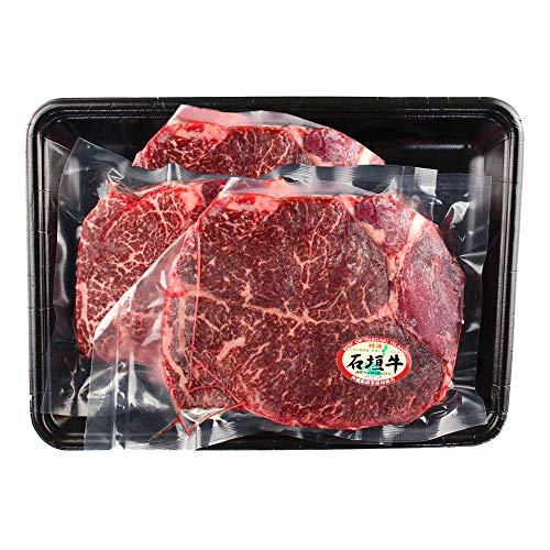 ギフト 沖縄県産 石垣牛 モモステーキ 200g×3枚 口の中でとろける食感 沖縄県産和牛の赤身モモステーキ