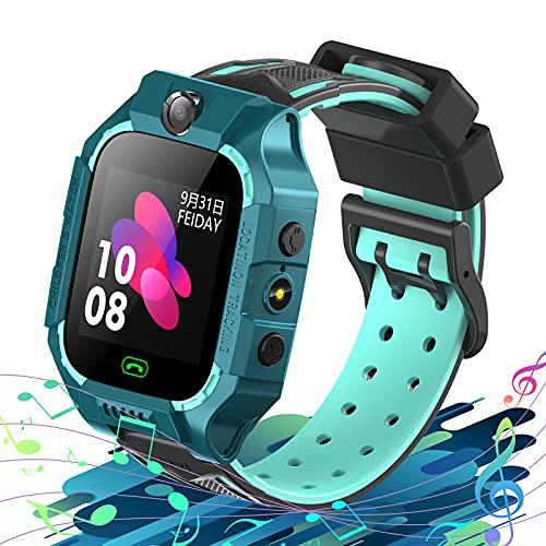 Reloj Inteligente para Niños con 8 Juegos, Smartwatch Niño SOS Phone Video Cámara Alarma MP3 Musical Calculadora Linterna...