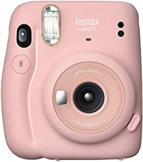 Fujifilm Instax Mini 11 Automatic Flash Photo Camera, Blush Pink (87012)