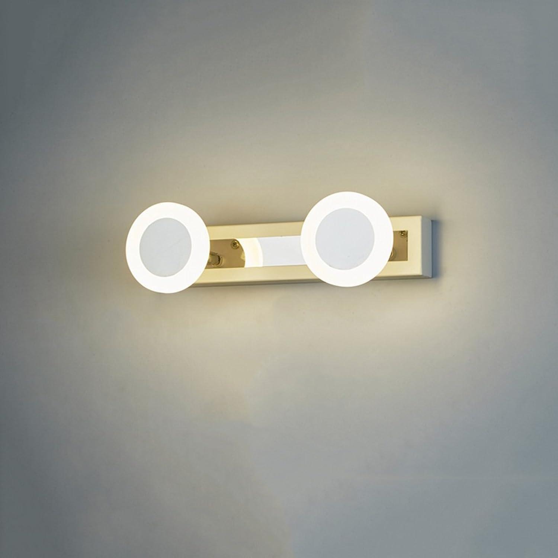 WYDM LED Spiegel Vorne Ligh, Wasserdicht Und Anti-fog Bad Badezimmerspiegellampe Wandleuchte Mode Einfache Moderne Lampe (Farbe   Weies Licht-30cm)