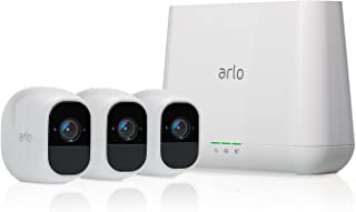 Arlo Pro 2 VMS4330P Full HD Wireless Home Security Camera System with Siren, 3 Camera Kit VMS4330P-100EUS