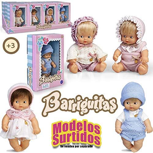 Barriguitas - Surtido de muñecas bebé con ropita, Envío A