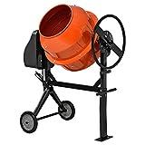 [in.tec]® Hormigonera eléctrica(140 litros - 2800 U/Min - 550W) mezclador de cemento mortero -...