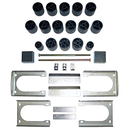 """Performance Accessories, Dodge Dakota 2WD and 4WD Std/Ext/Quad Cabs 3"""" Body Lift Kit, fits 2005 to 2011, PA60163, Made in America"""