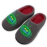 Pillow Socks Tro-lls Wor-ld To-ur - Pantuflas de algodón transpirable para mujer con suela de goma TPR antideslizante, zapatos de tela de punto informales para niñas de 11 a 12 (5 a 12 tamaños)
