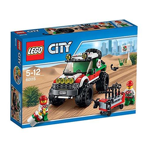 LEGO City Todoterreno 4x4 - Juegos de construcción (Multi)