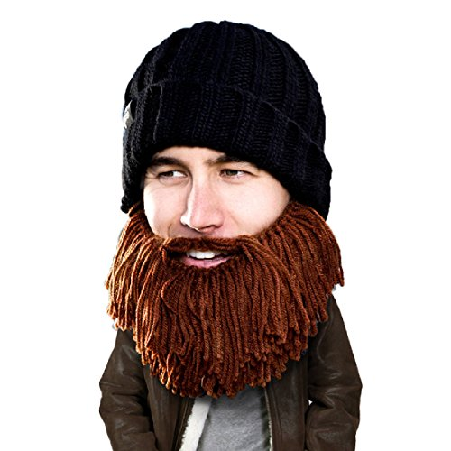 Price comparison product image Beard Head Barbarian Vagabond Beanie,  Brown,  One Size