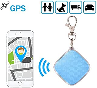 Mini Waterproof GPS Tracker GSM/GPRS Real Time Tracking Device Locator with Key Chain for Kids Pets Vehicles PS116