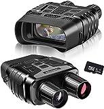 Rooauueu Digitales Nachtsichtgerät Binokular, 2,31' TFT LCD 300 m Sichtweite 960P Video 4-facher Zoom HD Digitale Infrarot-Nachtsichtbrille für Spotting Hunting(Frei 32G Speicherkarte als Geschenk)