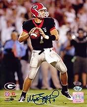 Matthew Stafford Autographed/Signed Georgia Bulldogs 8x10 NCAA Photo