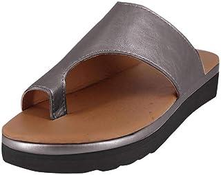 Sandalias Mujer Verano Planas Talla Grande MINXINWY 2019 Sandalias Negras de Vendimia Sandalias de Se/ñorita Sandalias ni/ñas Verano Zapatillas de casa de Mujeres