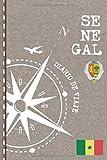Senegal Diario de Viaje: Libro de Registro de Viajes - Cuaderno de Recuerdos de Actividades en Vacaciones para Escribir, Dibujar - Cuadrícula de Puntos, Dotted Notebook Journal A5