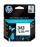 HP 343 C8766EE pack de 1, cartouche d'encre d'origine, imprimantes HP DeskJet,...