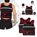 Gewichtsweste / Trainingsweste, geeignet für Lauftraining und zum Gewichtsverlust, anpassbares...