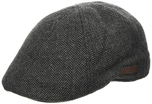 Barts Mr. Mitchell cap Berretto, Nero (0001-BLACK 001J), Medium (Taglia produttore:M) Uomo