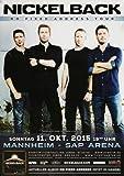 Nickelback - No Fixed Address, Mannheim 2015 »