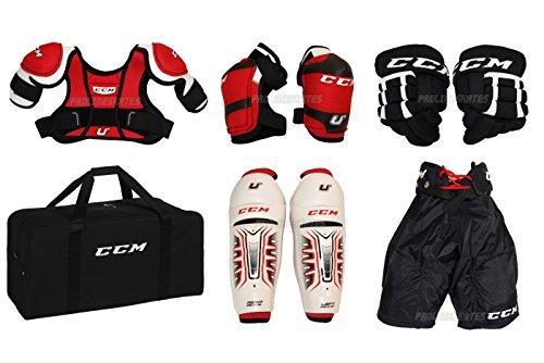 CCM Hockey-Starter-Set – Jugendliche, mittelgroß, Alter 4–6