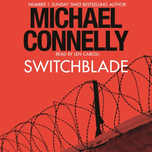 Switchblade audiobook cover art