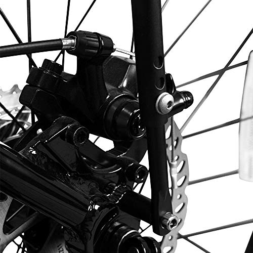 "IBERA(イベラ)自転車ツーリングキャリア700c/26""-29対応(ディスクブレーキ対応・取付具付属)"