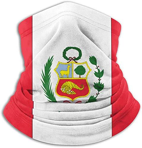 USA Maryland Bandera cuello polaina a prueba de viento bufanda máscaras anti-polvo para hombres-bandera nacional de Perú-