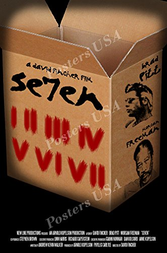 Posters USA - Se7en Seven 7 Movie Poster GLOSSY FINISH - MOV117 (24' x 36' (61cm x 91.5cm))