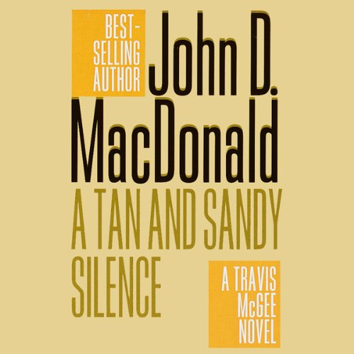 A Tan and Sandy Silence audiobook cover art