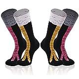 Gmark Lustige Socken für Herren & Damen, farbenfroh, mit süßen Worten - - Large