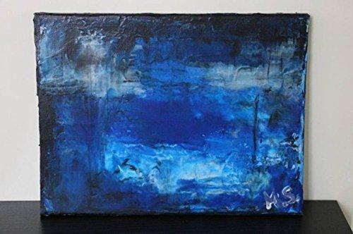 Drowning - abstrakte Kunst - Unterwasser