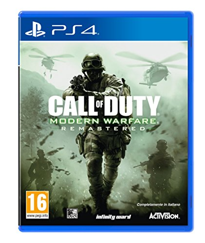Cod MWR Remastered - PlayStation 4