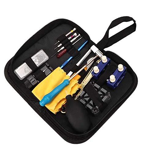 Herramienta de apertura de cubiertas Herramienta de reparación de relojes Diseño razonable Kit de reparación de relojes Removedor de clavijas duradero con removedor de clavijas de reloj