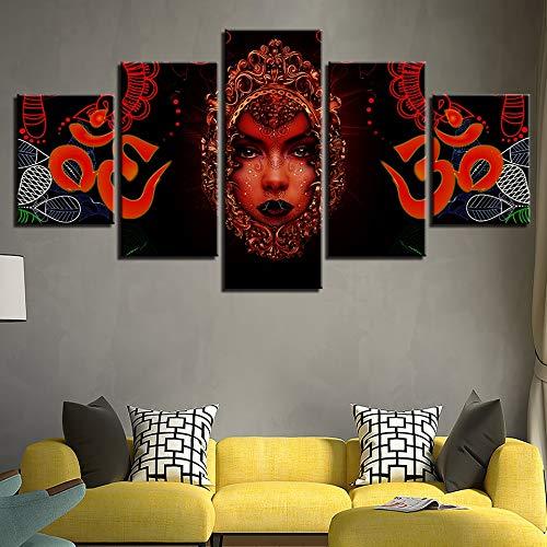 cuadro diamante bordado pintura Arte de pared pinturas modernas carteles de Dios hindú decoración sala de estar imágenes abstractas impresión HD en Sin marco FFFZDCKAY