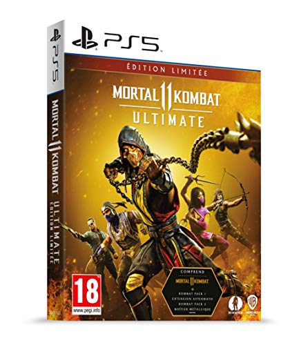Mortal Kombat 11 Ultimate - Steelcase - D1 (PS5)