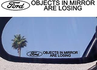 (2) Mirror Decals