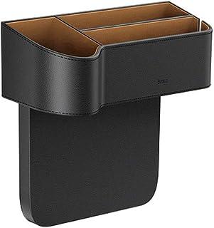 Los asientos del coche Gap Filler, consola de bolsillo lateral del asiento de cuero del coche del organizador del almacenaje, Asiento multifuncional de coches Caja de almacenamiento, los asientos