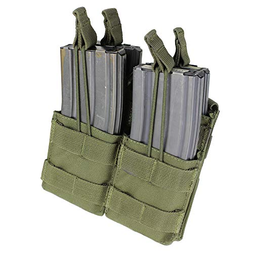 CONDOR MA43-001 Double Stacker M4/M16 Mag Pouch OD