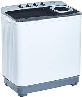 Midea MLTT12M2NUBW Lavadora Semiautomática, color Blanco, 2