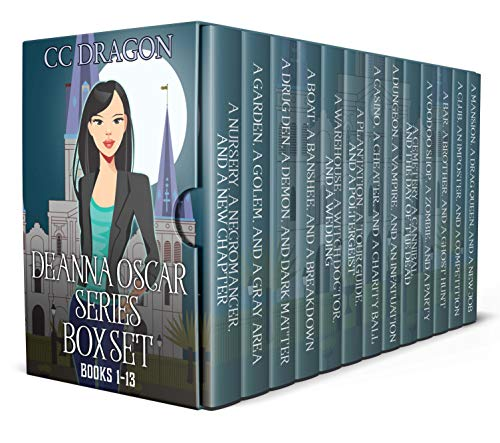 Deanna Oscar Box Set 1 - 13 by CC Dragon