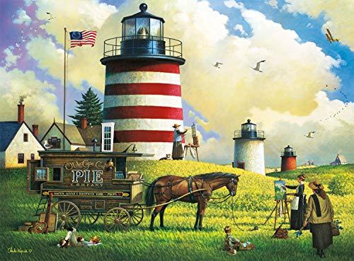 Buffalo Games  Charles Wysocki  The Three Sisters  1000 Piece Jigsaw Puzzle